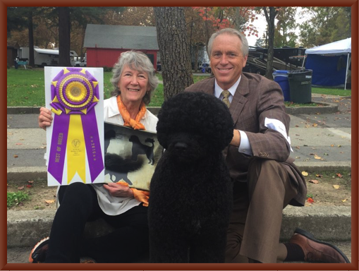 Julie, Bill McFadden and Manly -  